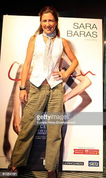 Dancer Sara Baras Presents 'Carmen' At the Coliseum Theatre on September 22 2009 in Barcelona Spain