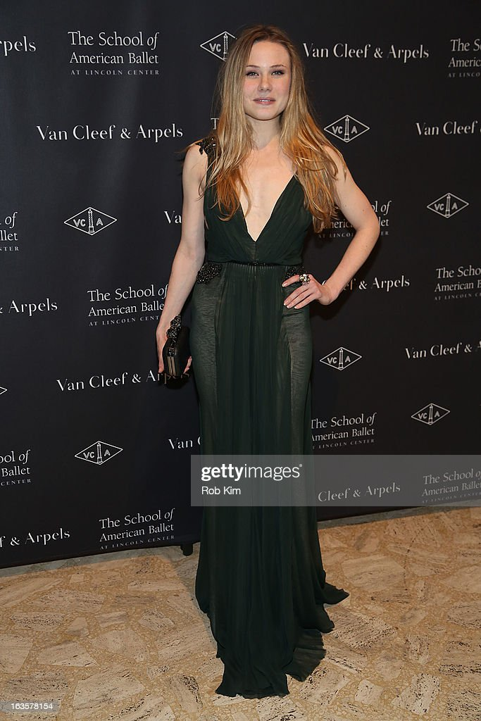 Dancer Sara Mearns attends the School of American Ballet 2013 Winter Ball at David H. Koch Theater, Lincoln Center on March 11, 2013 in New York City.