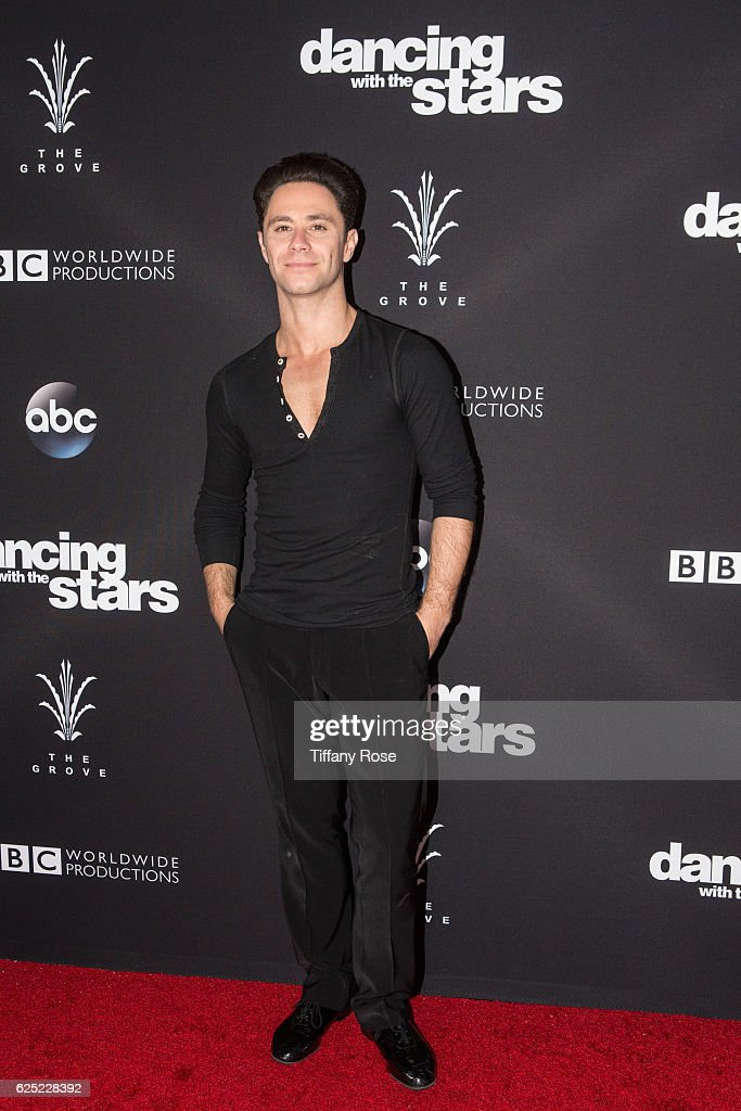 Dancer Sasha Farber attends the 'Dancing With The Stars' live finale at The Grove on November 22, 2016 in Los Angeles, California.
