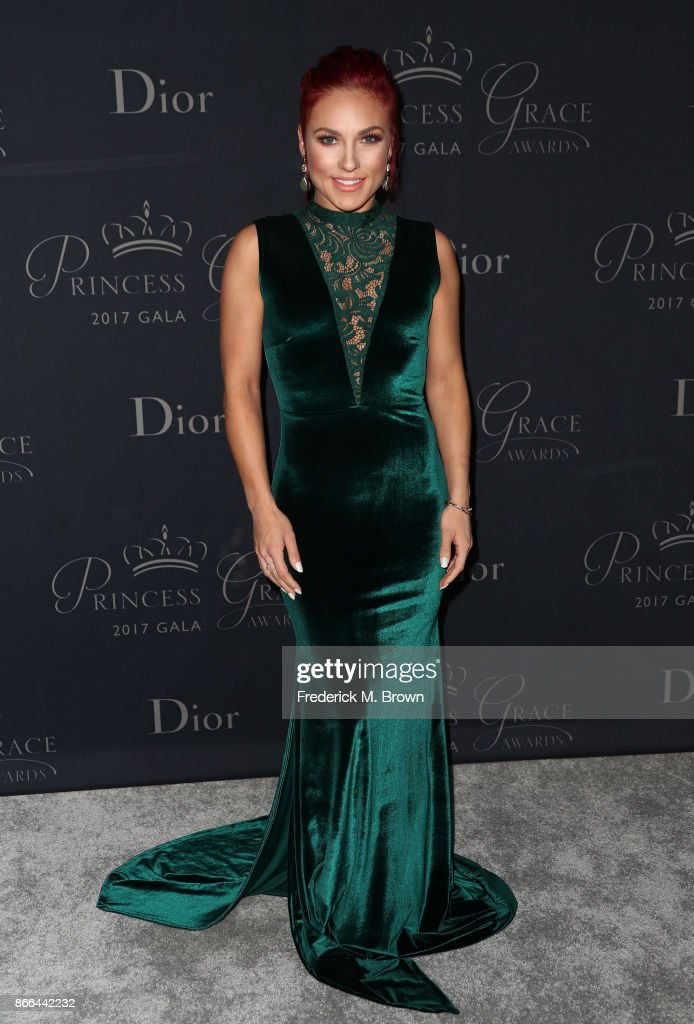 Dancer Sharna Burgess attends 2017 Princess Grace Awards Gala at The Beverly Hilton Hotel on October 25, 2017 in Beverly Hills, California.