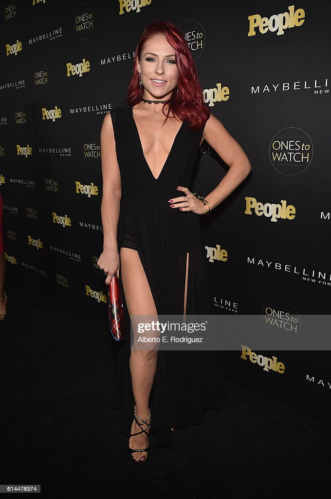 Dancer Sharna Burgess attends People's 'Ones to Watch' event presented by Maybelline New York at E.P. & L.P. on October 13, 2016 in Hollywood, California.