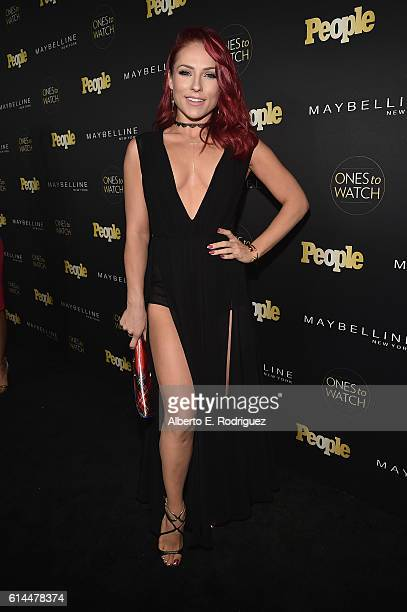 Dancer Sharna Burgess attends People's 'Ones to Watch' event presented by Maybelline New York at EP LP on October 13 2016 in Hollywood California