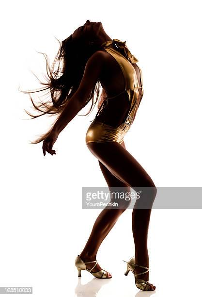 Tänzerin Silhouette