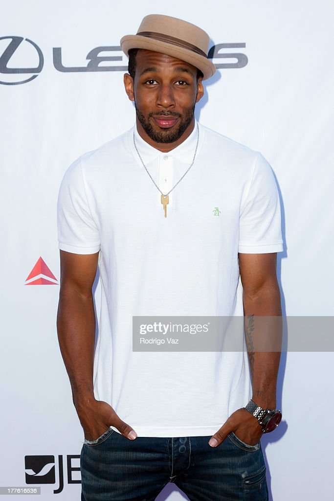 Dancer Stephen 'Twitch' Boss attends LEXUS Live On Grand at the 3rd Annual Los Angeles Food & Wine Festival Arrivals on August 24, 2013 in Los Angeles, California.