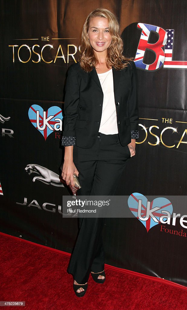 Dancer Tahyna Tozzi attends the 7th Annual Toscars Awards Show at the Egyptian Theatre on February 26 2014 in Hollywood California