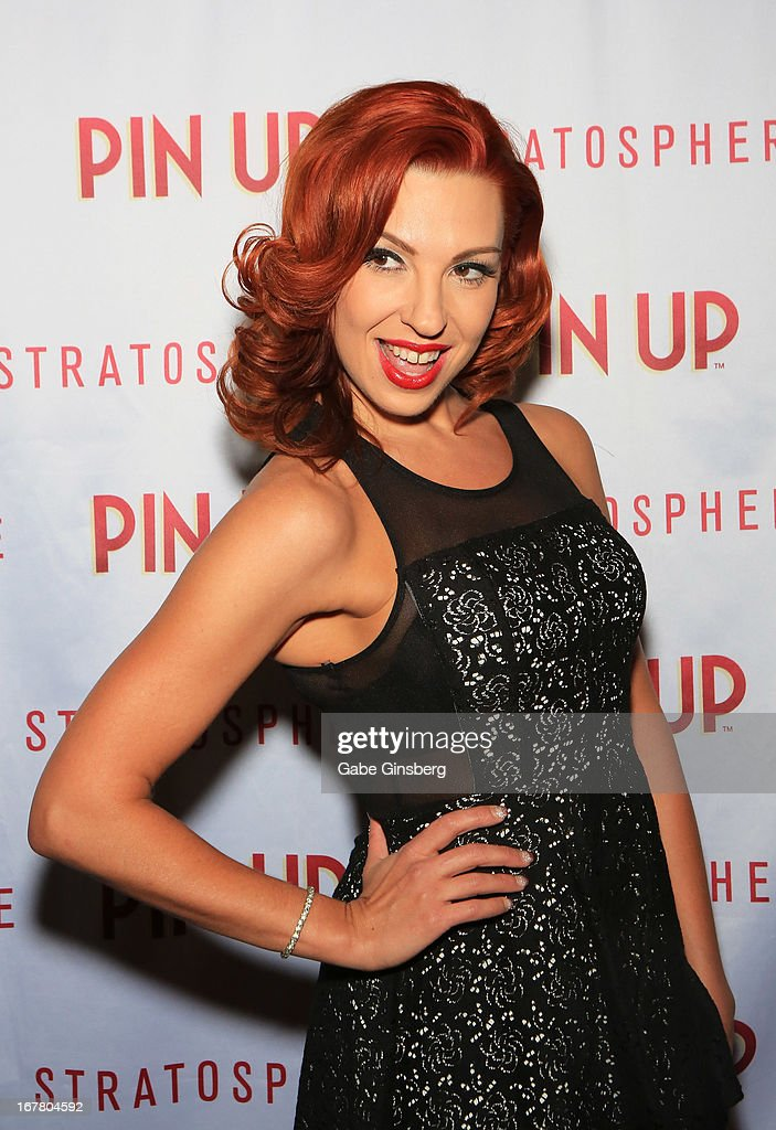 Dancer Tara Palsha arrives at the premiere of 'Pin Up' at the Stratosphere Casino and Hotel on April 29, 2013 in Las Vegas, Nevada.