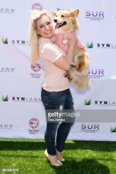 Dancer Taryn T Francis attends 2nd Annual World Dog Day at Vanderpump Dogs on June 25 2017 in Los Angeles California