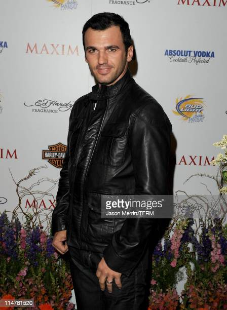 Dancer Tony Dovolani arrives at the 11th annual Maxim Hot 100 Party with HarleyDavidson ABSOLUT VODKA Ed Hardy Fragrances and ROGAINE held at...