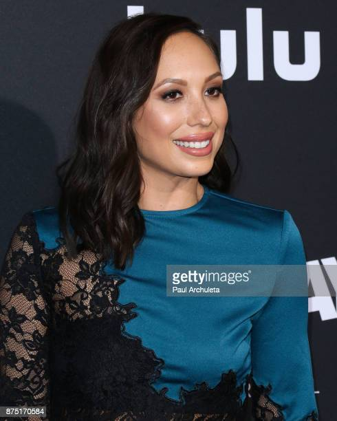Dancer / TV Personality Cheryl Burke attends the premiere of Hulu's 'Marvel's Runaways' at The Regency Bruin Theatre on November 16 2017 in Los...
