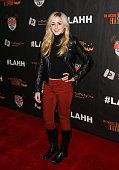 Dancer / TV Personality Chloe Lukasiak attends the 7th Annual LA Haunted Hayride at Griffith Park Zoo on October 4 2015 in Los Angeles California