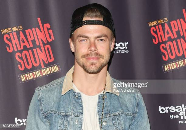 Dancer / TV Personality Derek Hough attends the opening night of 'Shaping Sound After The Curtain' at Royce Hall on June 27 2017 in Los Angeles...