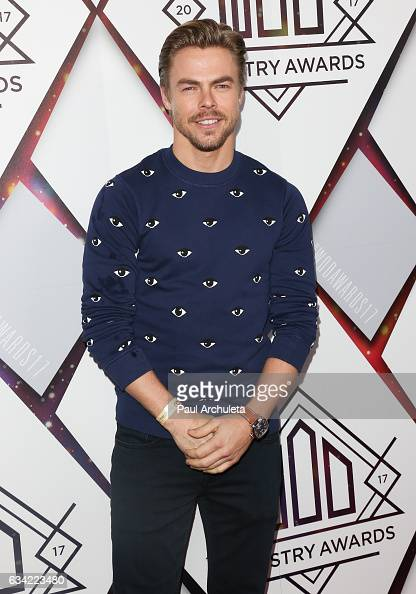 Dancer / TV Personality Derek Hough attends the World Of Dance Industry Awards at Avalon Hollywood on February 7 2017 in Los Angeles California