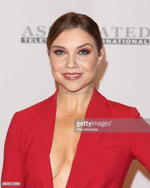 Dancer / TV Personality Jenna Johnson attends the 24th annual Race To Erase MS Gala at The Beverly Hilton Hotel on May 5 2017 in Beverly Hills...