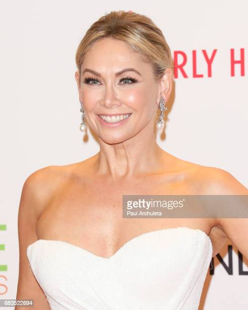 Dancer / TV Personality Kym Johnson attend the 24th annual Race To Erase MS Gala at The Beverly Hilton Hotel on May 5 2017 in Beverly Hills California