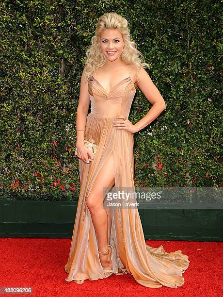 Dancer Witney Carson attends the 2015 Creative Arts Emmy Awards at Microsoft Theater on September 12 2015 in Los Angeles California