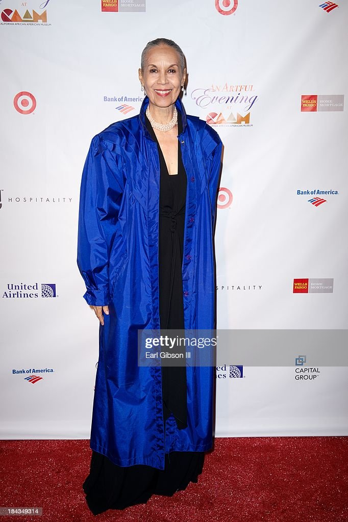 Dancer/Actress <a gi-track='captionPersonalityLinkClicked' href=/galleries/search?phrase=Carmen+de+Lavallade&family=editorial&specificpeople=984640 ng-click='$event.stopPropagation()'>Carmen de Lavallade</a> is honored with a Lifetime Achievement Award at 'An Artful Evening At CAAM' Gala at the California African American Museum on October 12, 2013 in Los Angeles, California.