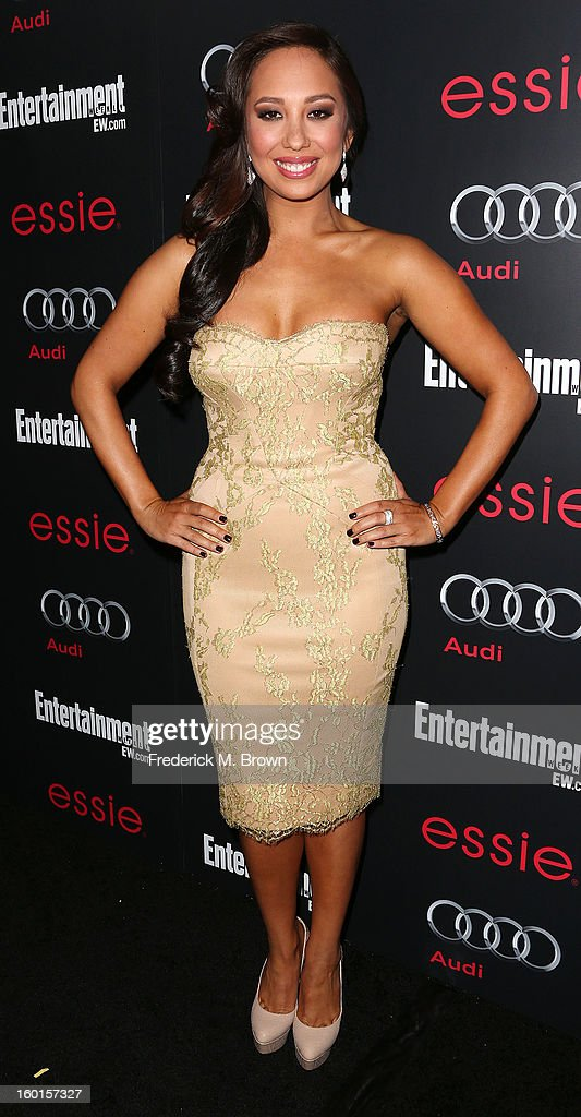 Dancer/actress Cheryl Burke attends Entertainment Weekly Screen Actors Guild Awards Pre-Party at Chateau Marmont on January 26, 2013 in Los Angeles, California.