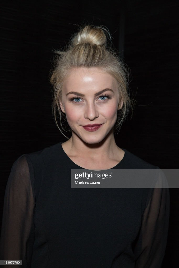Dancer/actress <a gi-track='captionPersonalityLinkClicked' href=/galleries/search?phrase=Julianne+Hough&family=editorial&specificpeople=4237560 ng-click='$event.stopPropagation()'>Julianne Hough</a> attends ESCADA and W Magazine's celebration of Cool Earth with hosts Daniel Wingate, Suzanne Todd and Jennifer Todd at Escada Boutique on September 26, 2013 in Beverly Hills, California.