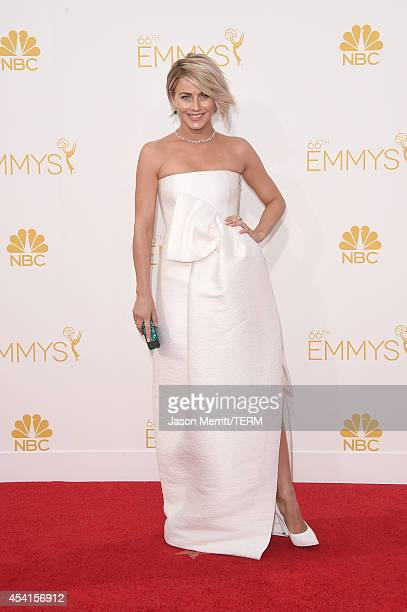 Dancer/actress Julianne Hough attends the 66th Annual Primetime Emmy Awards held at Nokia Theatre LA Live on August 25 2014 in Los Angeles California