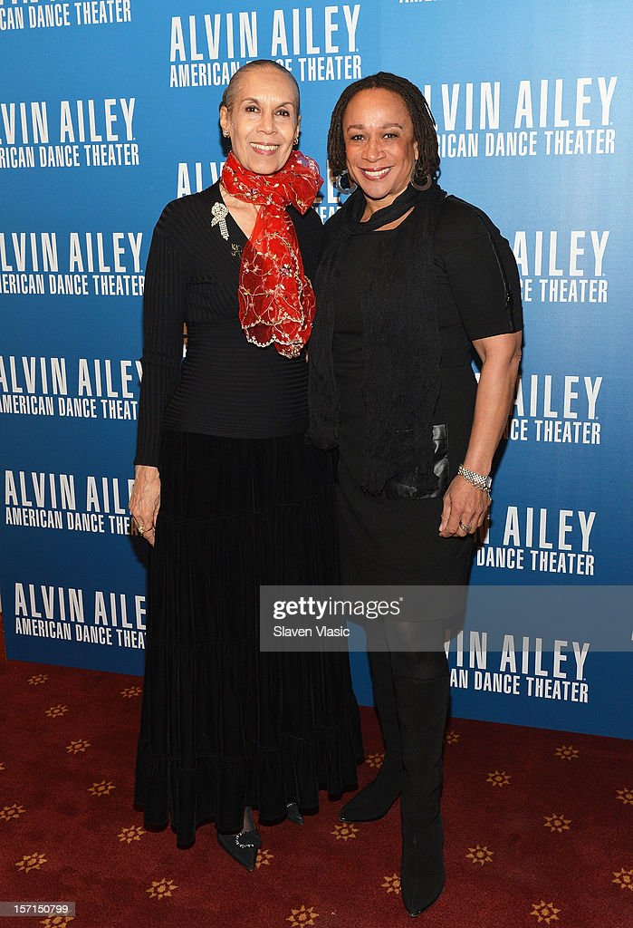 Dancer/choreographer Carmen de Lavallade and actress S. Epatha Merkerson attend the Alvin Ailey American Dance Theater Opening Night Gala at New York City Center on November 28, 2012 in New York City.