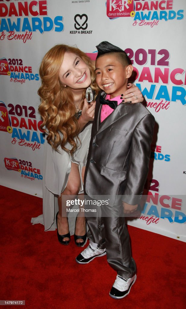 Dancer/choreographer Chachi Gonzalez (L) attends the Kids Artistic Revue 'KAR ' TV Dance Awards at MGM Grand on July 6, 2012 in Las Vegas, Nevada.