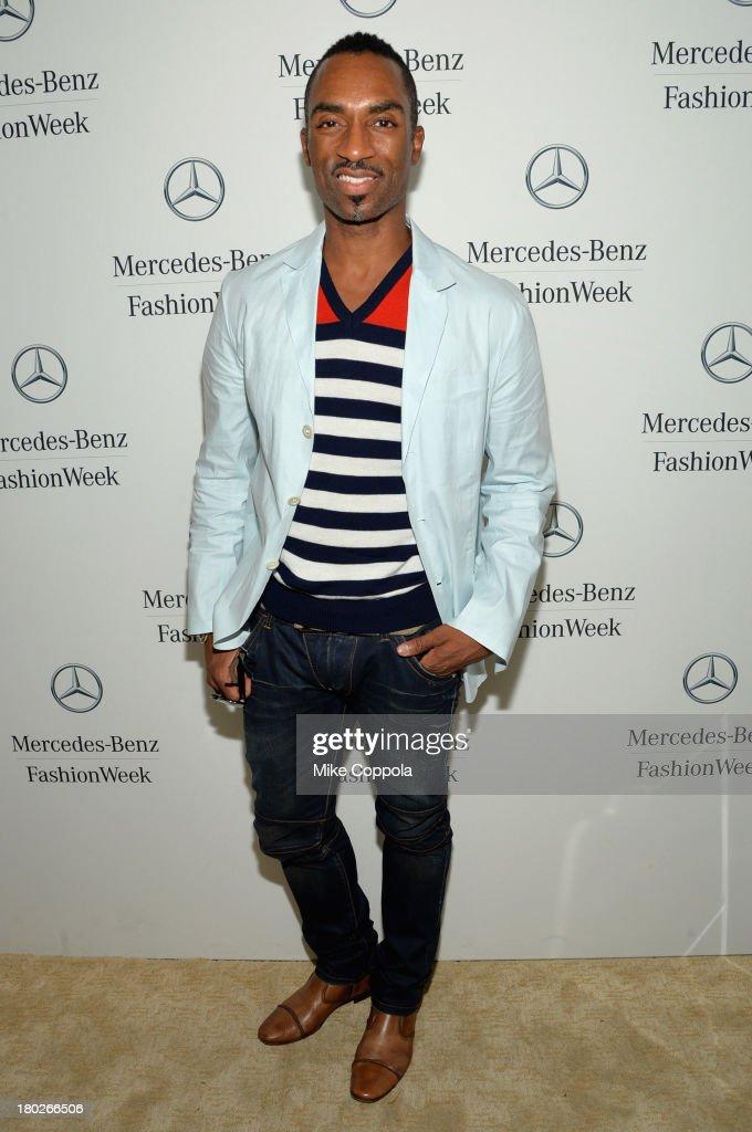 Dancer/choreographer Desmond Richardson attends the Mercedes-Benz Star Lounge during Mercedes-Benz Fashion Week Spring 2014 on September 10, 2013 in New York City.