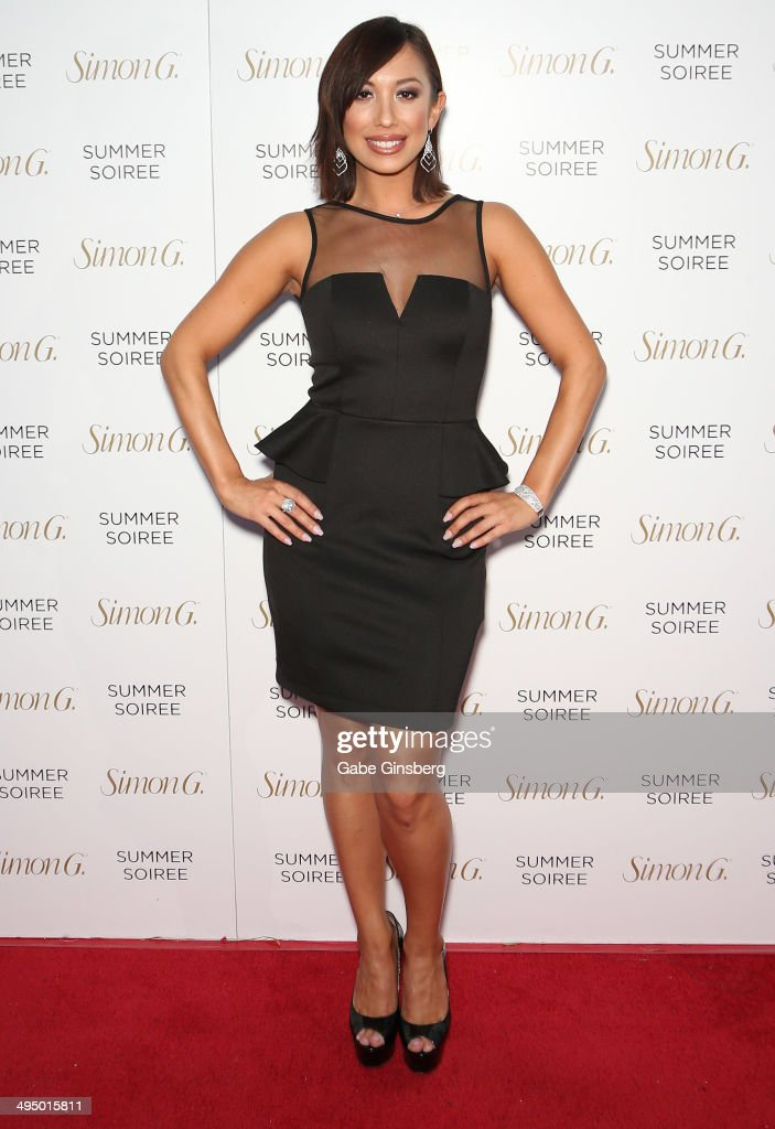 Dancer/model <a gi-track='captionPersonalityLinkClicked' href=/galleries/search?phrase=Cheryl+Burke&family=editorial&specificpeople=540289 ng-click='$event.stopPropagation()'>Cheryl Burke</a> arrives at the Simon G Soiree at the Four Seasons Hotel Las Vegas on May 31, 2014 in Las Vegas, Nevada.
