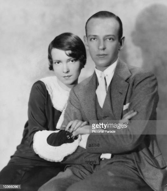 Dancers Adele Astaire and Fred Astaire brother and sister USA circa 1925 The two performed a 'brotherandsister act' which was common in vaudeville at...