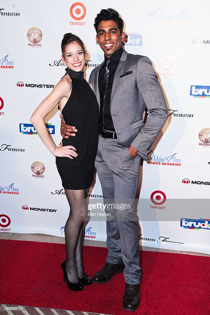 Dancers Anna Gerberich and Pete Walker attend the Debbie Allen Dance Academy's 'All-Star Gala' at Royce Hall, UCLA on December 12, 2013 in Westwood, California.