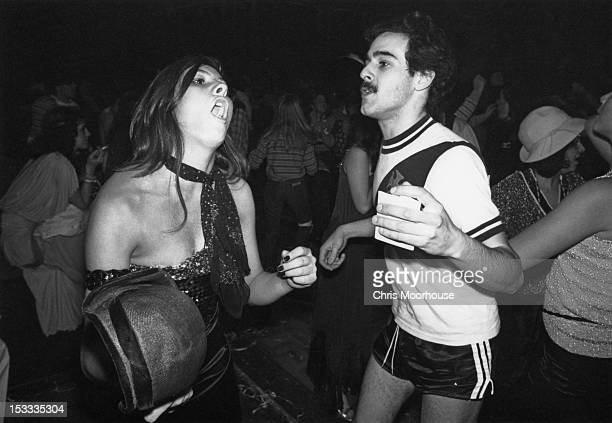 Dancers at the Carnival Ball held at the Royal Albert Hall London 23rd February 1979