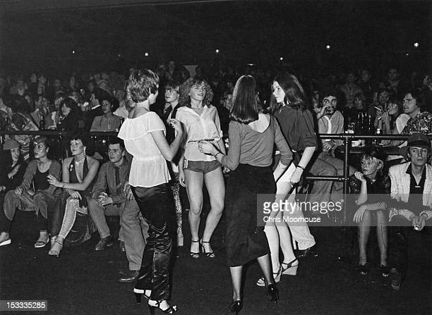 Dancers at the 'Kickers' Christmas party held at the Venue London 11th December 1978