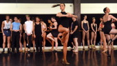 Dancers audition for the famous Moulin Rouge in Paris which celebrates its 125th birthday this year in Sydney on July 15 2014 The dancers are...
