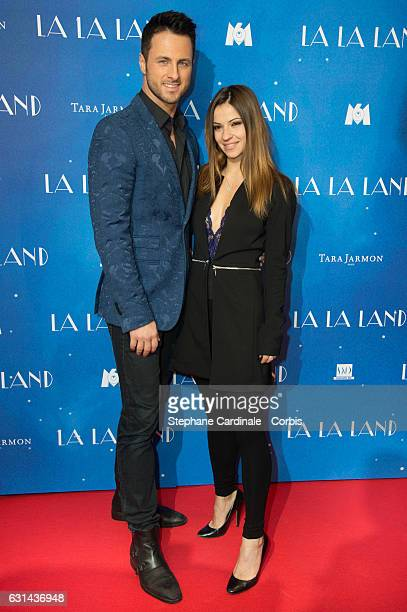 Dancers Christian Millette and Denitsa Ikonomova attends the 'La La Land' Paris Premiere at Cinema UGC Normandie on January 10 2017 in Paris France