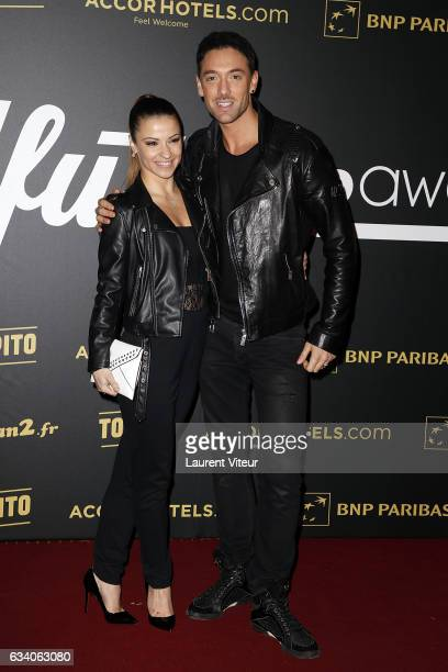 Dancers Denitsa Ikonomova and Maxime Dereymez from 'Danse avec les Stars' attends the '4th Melty Future Awards' at Le Grand Rex on February 6 2017 in...