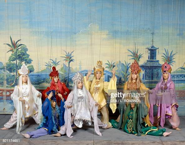 dancers from aladdin 39 s lamp pictures getty images. Black Bedroom Furniture Sets. Home Design Ideas