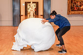 Chunky Moves Dancers Perform As Part Of Triennial EXTRA...