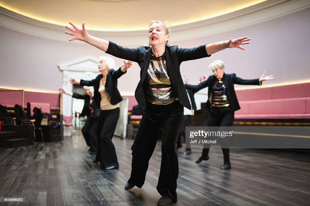 Dancers from PRIME dance company, perform in St Cecilia's hall ahead of next months Luminate festival on September 12, 2017 in Edinburgh, Scotland. Luminate, Scotland's creative ageing festival, will host a wide range of performances, events and activities in venues throughout October. Dance, drama, music, visual arts and community events along with projects will help highlight creativity as we age.