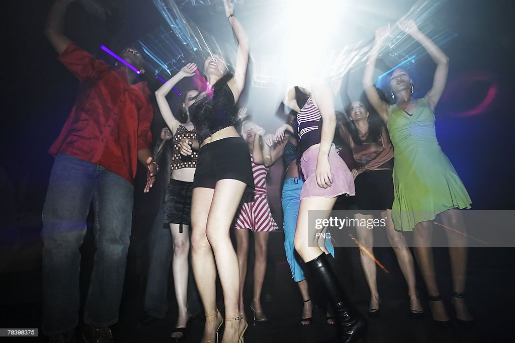 Dancers in a nightclub : Stock Photo