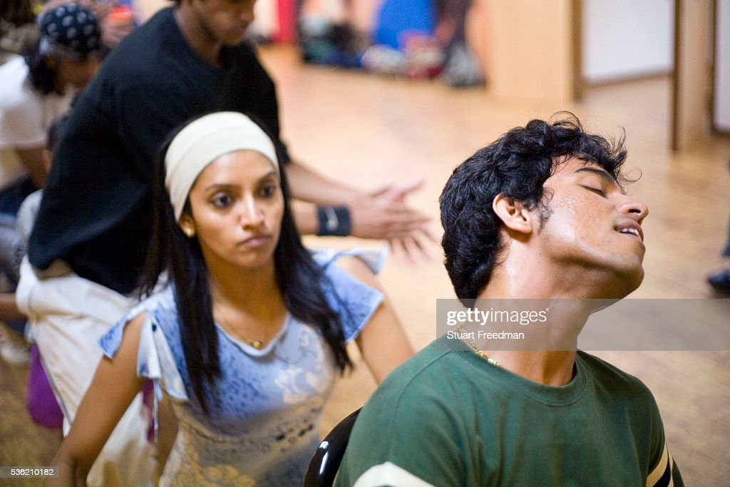 Dancers in rehearsals for The Merchants of Bollywood in the Yash Raj Studios in Mumbai India The Merchants of Bollywood an Indian theatrical dance...