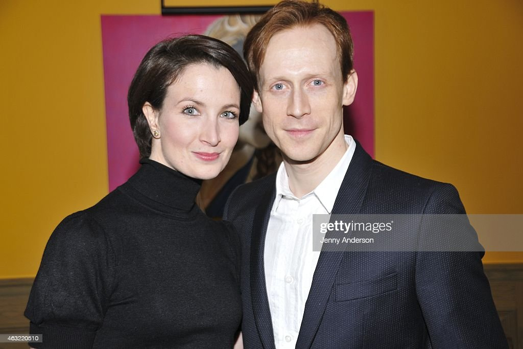 Dancers Lauren Cuthbertson and Edward Watson attend The Royal Ballet's 'The Winter Tale' preview reception at Crosby Street Hotel on February 11, 2015 in New York City.