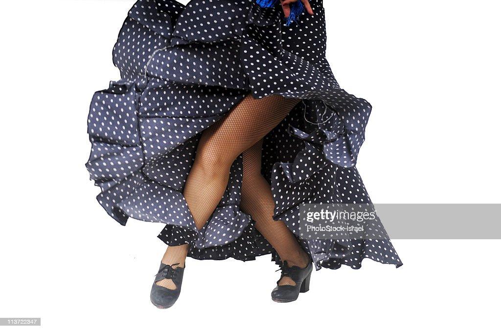 Dancer's legs : Stock Photo