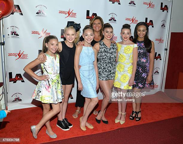 Dancers Mackenzie Ziegler Jojo Siwa and Maddie Ziegler dance instructior Abby Lee Miller and dancers Kalani Hilliker Kendall Vertes and Nia Frazier...