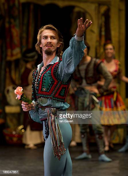 Dancers of the English National Ballet perform 'Le Corsaire' at the Milton Keynes Theatre on October 16 2013 in Milton Keynes England