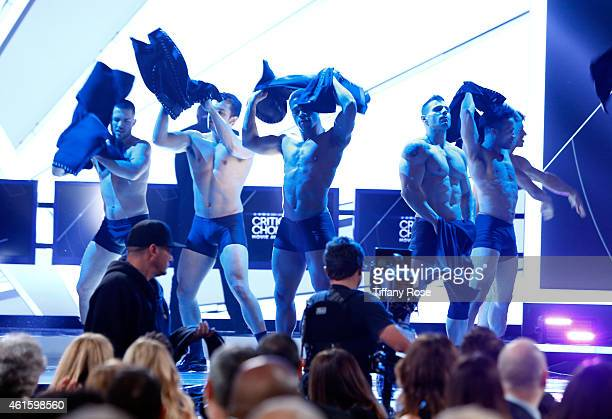 Dancers onstage during the 20th annual Critics' Choice Movie Awards at the Hollywood Palladium on January 15 2015 in Los Angeles California