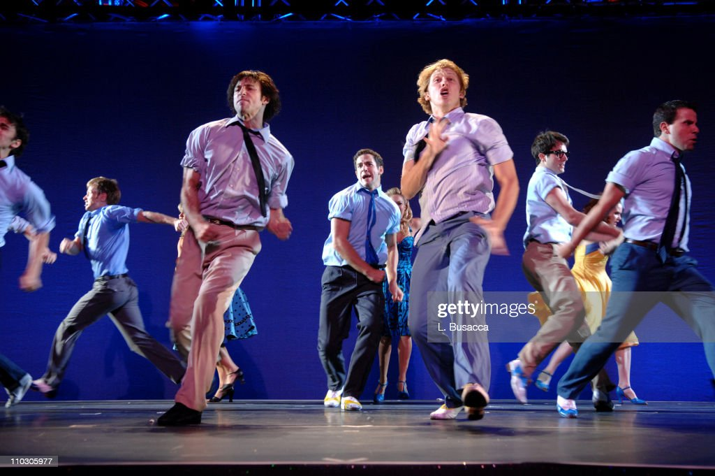 Dancers perform 'Cool' from West Side Story during the Recording Academy New York Chapter's Tribute to Bon Jovi Alicia Keys Donnie McClurkin and the...