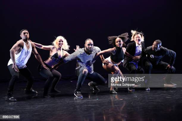 Dancers perform during the 2017 Victory Dance Project Anniversary Celebration at Manhattan Movement Arts Center on June 15 2017 in New York City