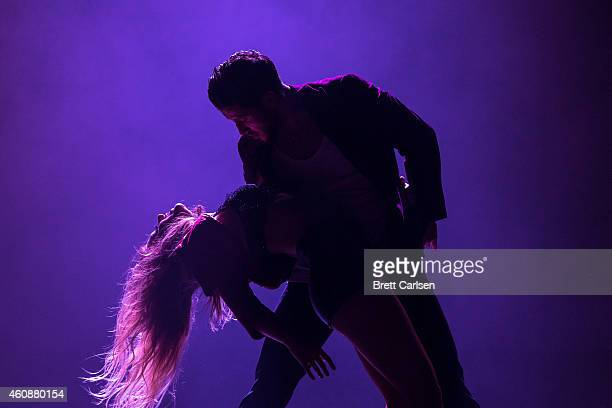 Dancers perform during the Dancing With The Stars Live Tour at Turning Stone on December 28 2014 in Verona New York
