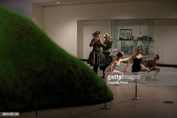 Dancers perform for delegates at the Closing Ceremony held at the ARoS Art Museum during the fifth day of SportAccord Convention 2017 at the...