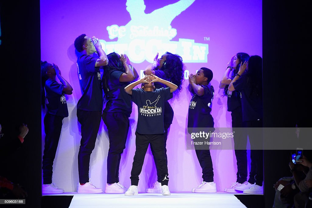 Dancers perform onstage at the Rookie USA Presents Kids Rock! Fall 2016 fashion show during New York Fashion Week: The Shows at The Dock, Skylight at Moynihan Station on February 11, 2016 in New York City.
