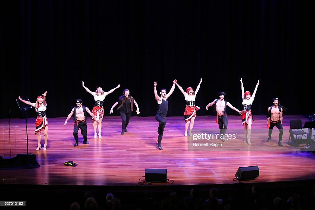 Dancers perform onstage during the 31st Annual Lucille Lortel Awards at NYU Skirball Center on May 1, 2016 in New York City.